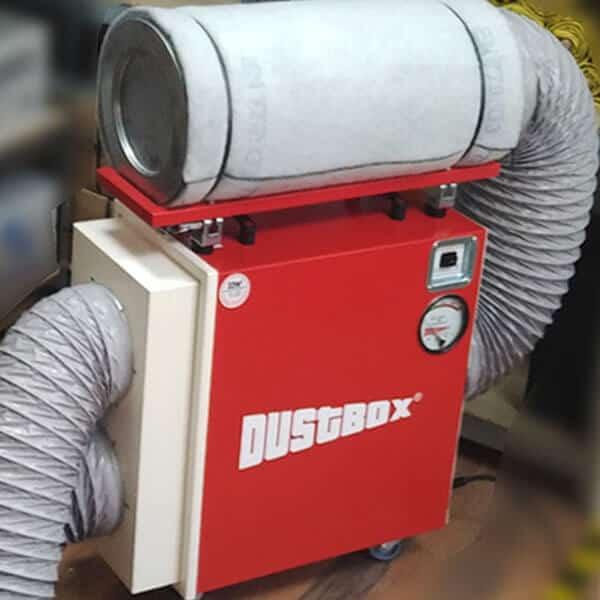 Aktivkohlepatrone für DustBox 2000 zum Aufsetzen auf Geräte