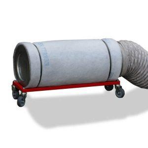 Aktivkohlefilter mit Rollengestell für DustBox