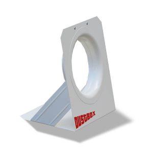 Düsenplatte für DustBox 2000 und 6000 Seitenansicht