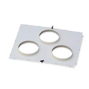 Ansaugadapterplatte für DustBox 6000 für 3 Schläuche