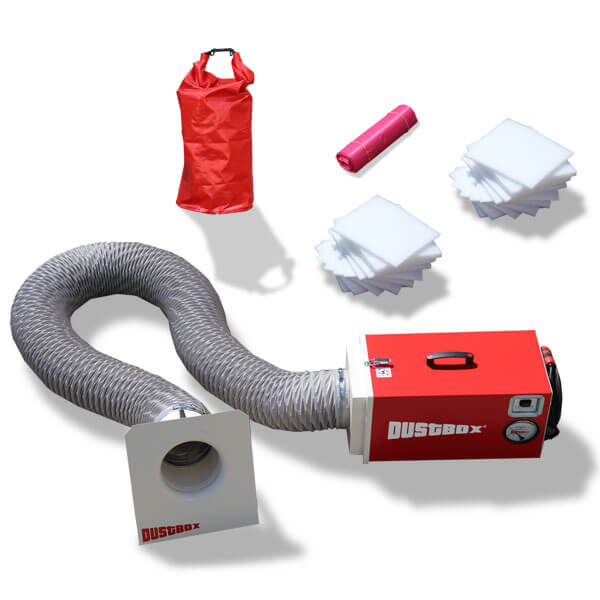 Sorglos-Paket DustBox 1000, förderfähig durch die BG BAU
