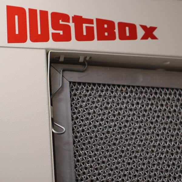 Alugestrickvorfilter für Taschenfiltervorabscheider DustBox
