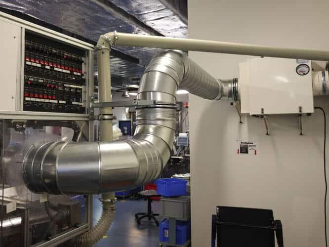 DustBox 2000 zur Luftreinigung in der Industrie