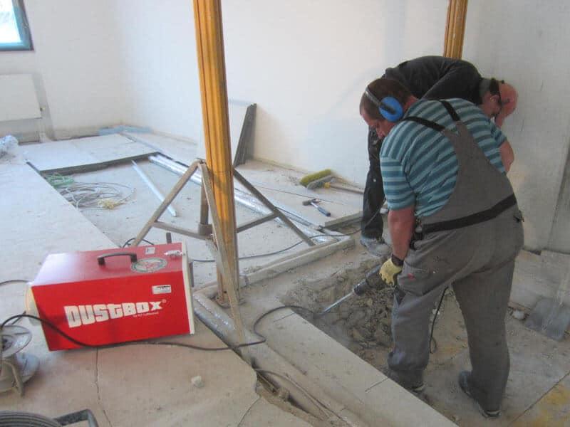 DustBox Umluftbetrieb ohne Schläuche (Stand-Alone)