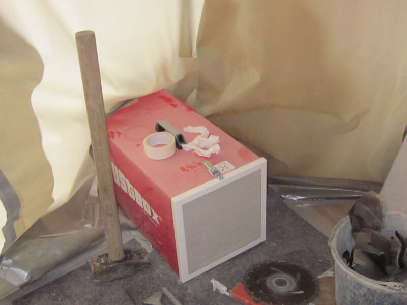 DustBox Unterdruckhaltung ohne Schläuche
