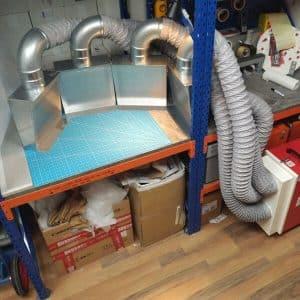 flexible Absaugwandelemente für DustBox 2000