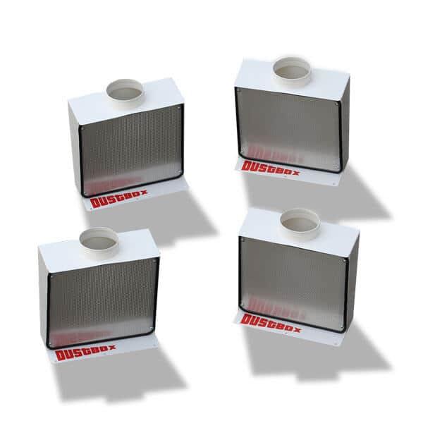 flexible Absaugwandelemente für DustBox