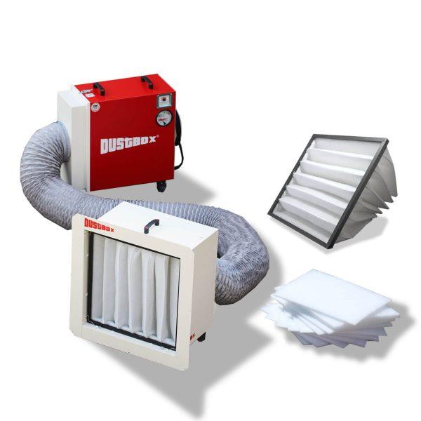 Taschenfilter-Paket DustBox 2000
